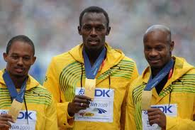 get used to seeing guys in yellow with medals around their necks, says Donovan Bailey