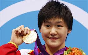 Ye Shiwen, Olympic champ and world record holder