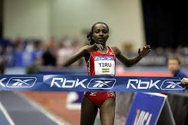 a jog in the park: Dibaba wins the 2-mile in a world-leading time of 9:13