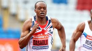 England's James Dasaolu: hometown hero or also-ran?