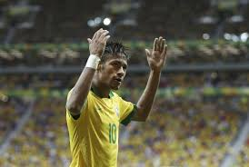 Neymar Jr soaks in the adulation at the Maracana