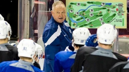 Former Leafs coach Carlyle sets team strategy for April