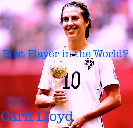Carli Lloyd Best Player Golden Ball