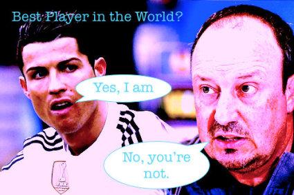 Cristiano Ronaldo Rafa Benitez Best Player
