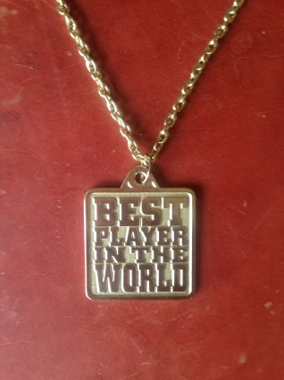 Best Player in the World Necklace