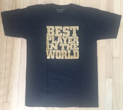 Best Player in the World T-Shirt
